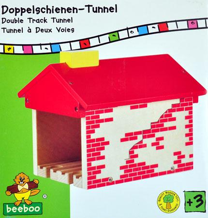 Doppelschienen-Tunnel