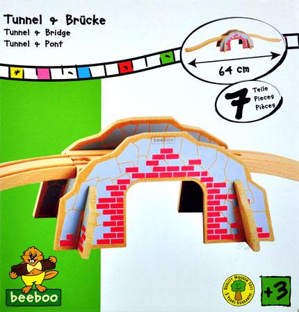 Tunnel und Brücke
