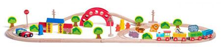 Eisenbahn Set - Zoo (inkl. Tieren und Eisenbahn)