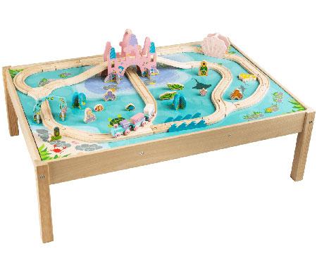 Meerjungfrauen Spielwelt mit Tisch