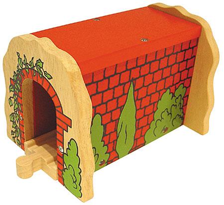 Roter Backsteintunnel