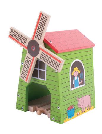 """Ländliche Windmühle """"Bauernhof"""""""
