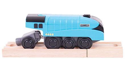 "Blaue Lokomotive ""Mallard"" (batteriebetrieben)"