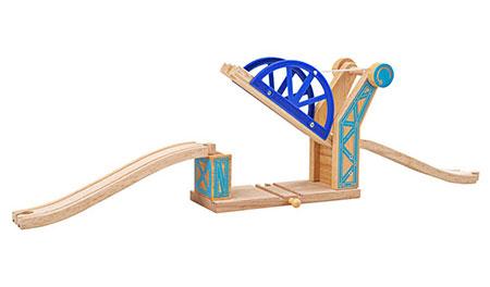 Blaue Zugbrücke