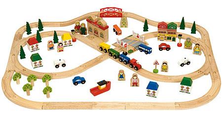 Stadt und Land Zug-Set