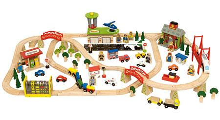 Transportmittel Bahn-Set