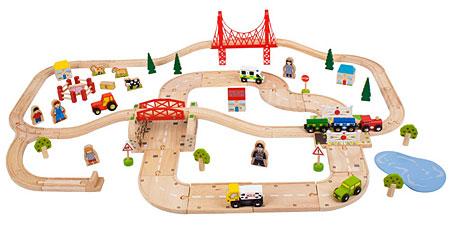 Bahn und Straßen-Set