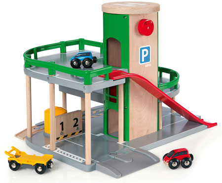 Parkhaus, Straßen & Schienen (Brio)