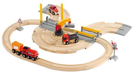 Straßen und Schienen Kran Set (Brio)