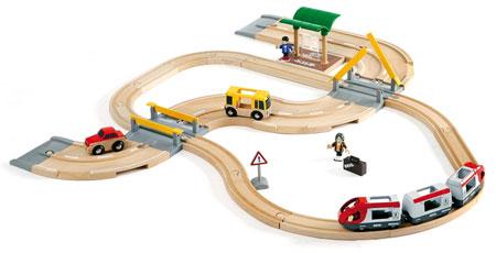 Straßen und Schienen Reisezug Set (Brio)