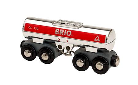 Silberner Tankwagen (BRIO)