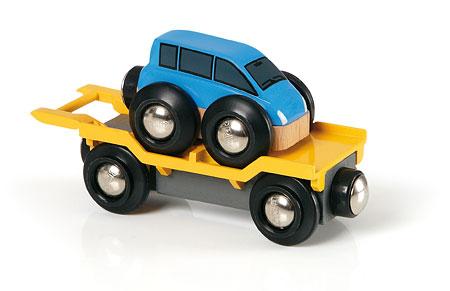 Autotransporter mit Rampe (Brio)