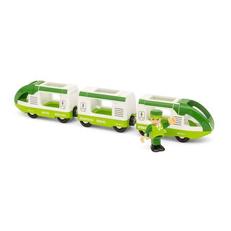 Grüner Reisezug (Brio)