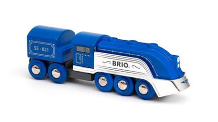 Blauer Dampfzug - Special Edition 2021 (Brio)
