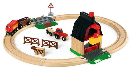 Bahn Bauernhof Set (Brio)