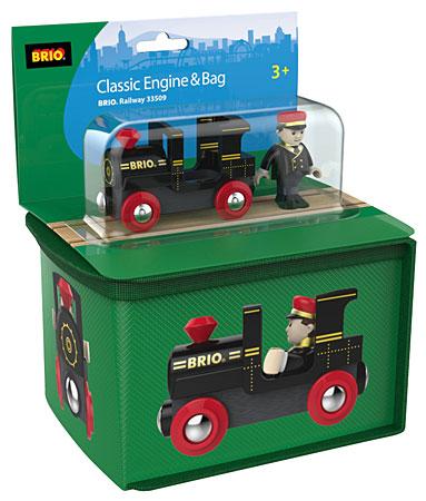 Aufbewahrungsbox mit Lok (Brio)