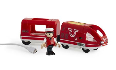 Roter Akku-Reisezug (Brio)