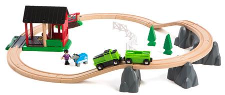 Pferde-Bahn Spiel-Set (Brio)