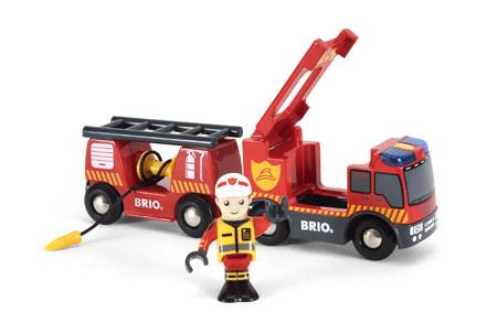 Feuerwehr - Leiterfahrzeug mit Licht und Sound