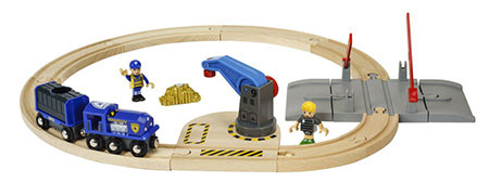 Polizei Goldtransport-Set (Brio)