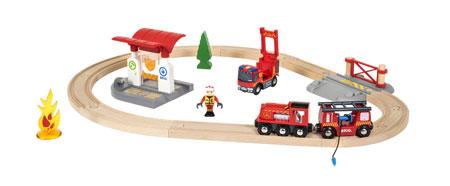 Feuerwehr - Bahnset