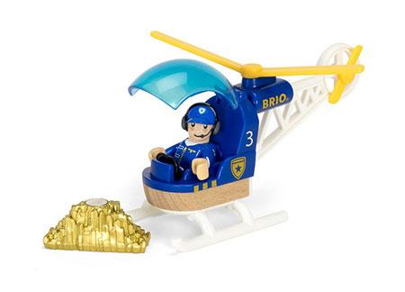 Polizeihubschrauber (Brio)