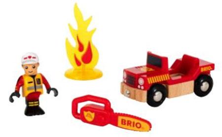 Figurenset - Feuerwehr (BRIO)