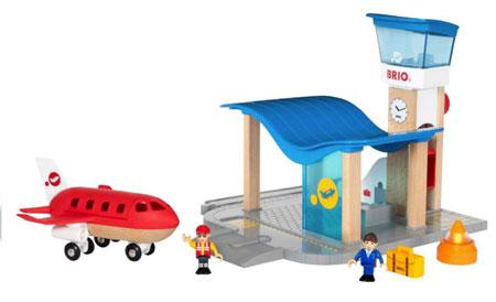Flughafen mit Tower (BRIO)