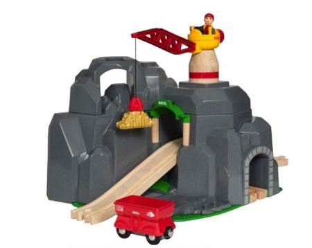 Große Goldmine mit Tunnel (BRIO)