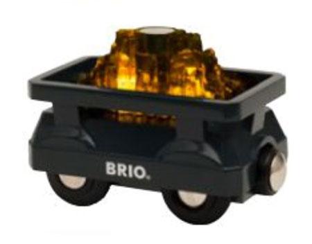 Goldwaggon mit Licht (BRIO)
