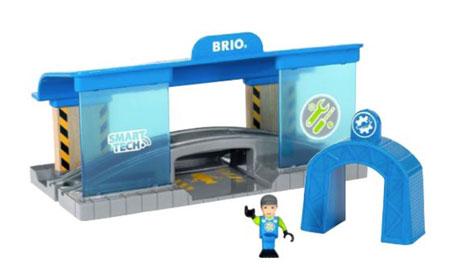 Smart Tech Eisenbahn-Werkstatt (BRIO)