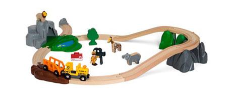 Großes Bahn Safari Set (BRIO)