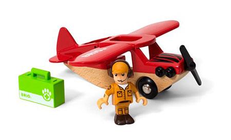 Safari Flugzeug (BRIO)