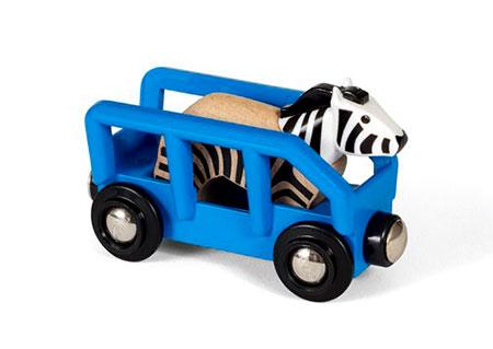 Tierwaggon Zebra (BRIO)