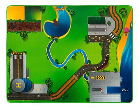 Eisenbahn-Spielmatte (Brio)