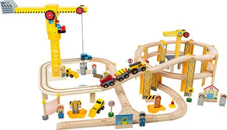 "Eisenbahn-Set ""Baustelle"""