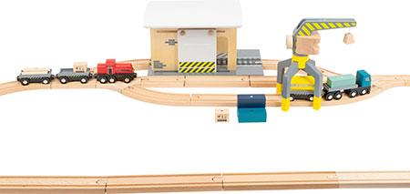 Güterbahnhof mit Zubehör