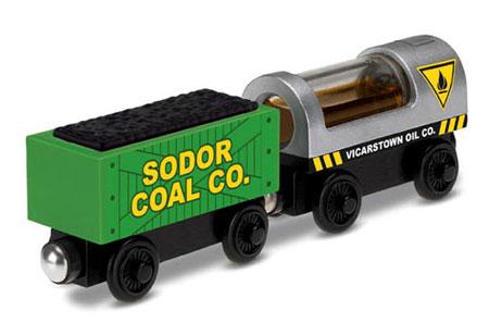 Öl- und Kohlefrachtwaggon (Thomas und seine Freunde)