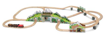 """Bahn-Set """"Berge und Tunnel"""""""