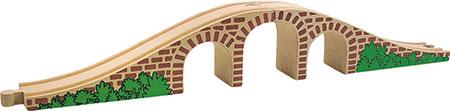 Bogenbrücke mit drei Bögen