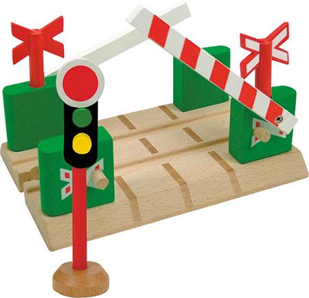 Bahnübergang mit beweglichen Schranken