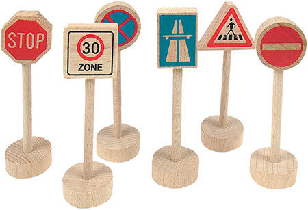 "Verkehrschilder-Set ""Straße"""