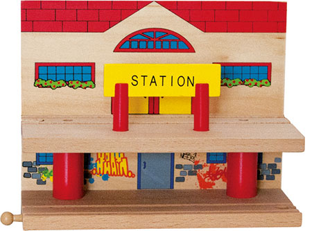 Zwei-Etagen-Bahnhof